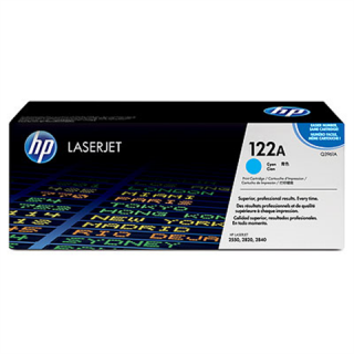 HP originální toner Q3961A, cyan, 4000str., 122A, high capacity, HP Color LaserJ